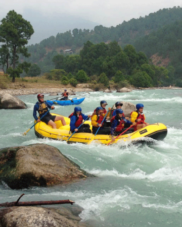 Water Rafting in Bhutan